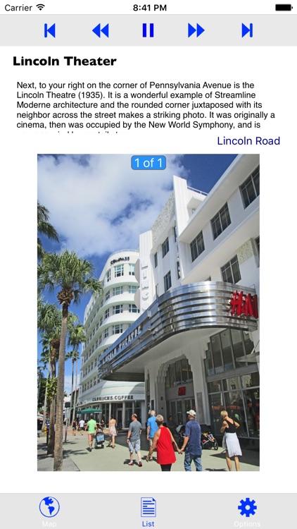 Miami Beach Art Deco GPS Tour screenshot-3