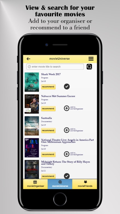 MovieSolsys - Socialise, Plan & Organise Movies