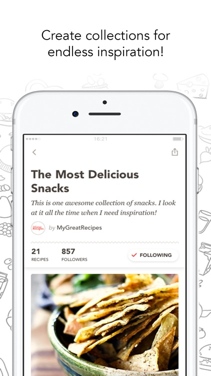 MyGreatRecipes! screenshot-3