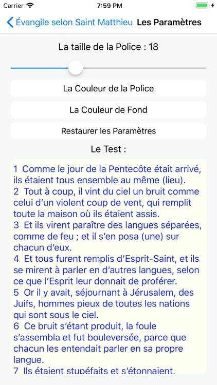 La Sainte Bible screenshot-8