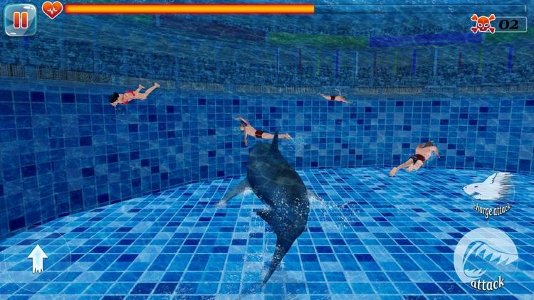 Scary Shark Unleashed 3D screenshot-3