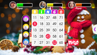 Christmas Bingo game screenshot one