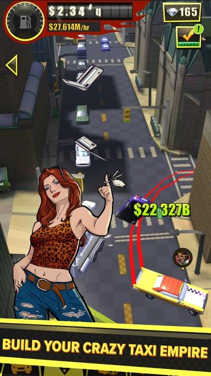 Crazy Taxi Gazillionaire - Tap screenshot-4