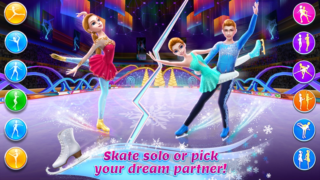 Ice Skating Ballerina Online Game Hack and Cheat