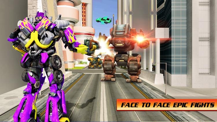 Flying Car War Hero Robot