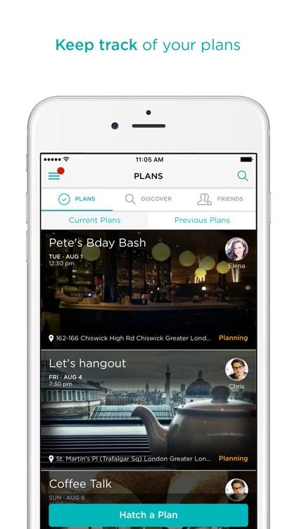 Hatch - Plan with friends screenshot-3