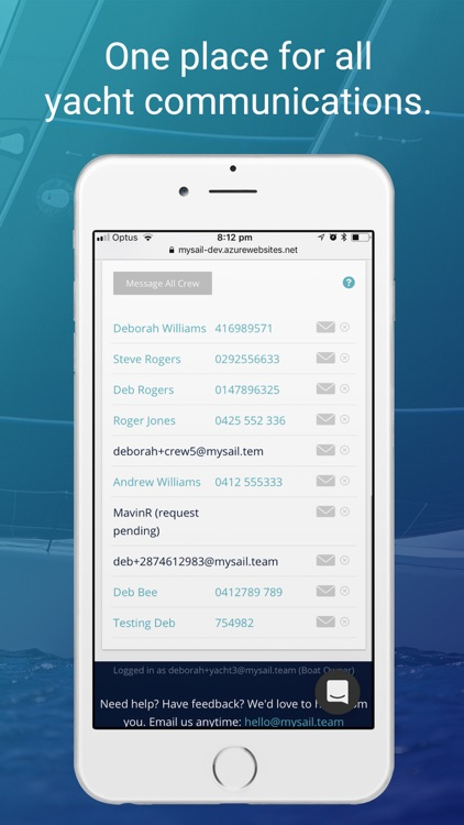 MySail screenshot-2