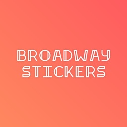 Broadway Stickers for iMessage