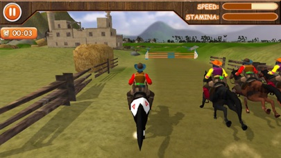 Riding & Jumping Derby Horse screenshot one