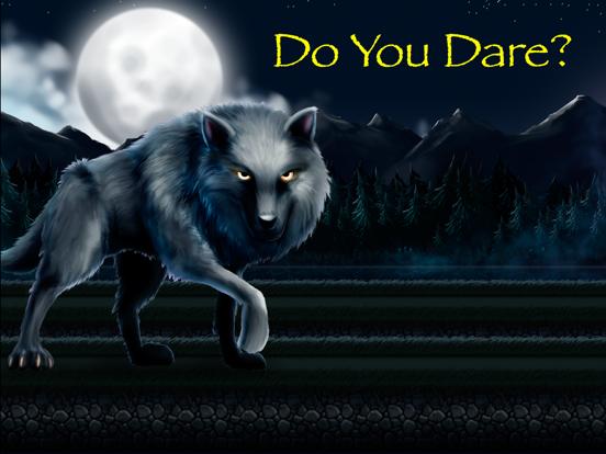 The Wolf Running Among Woods-ipad-0