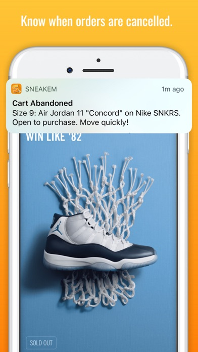 SneakEm' - Sneaker Releases Screenshots