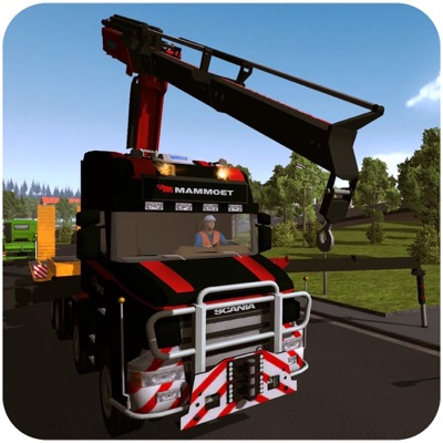 Heavy crane Construction Sim ios app