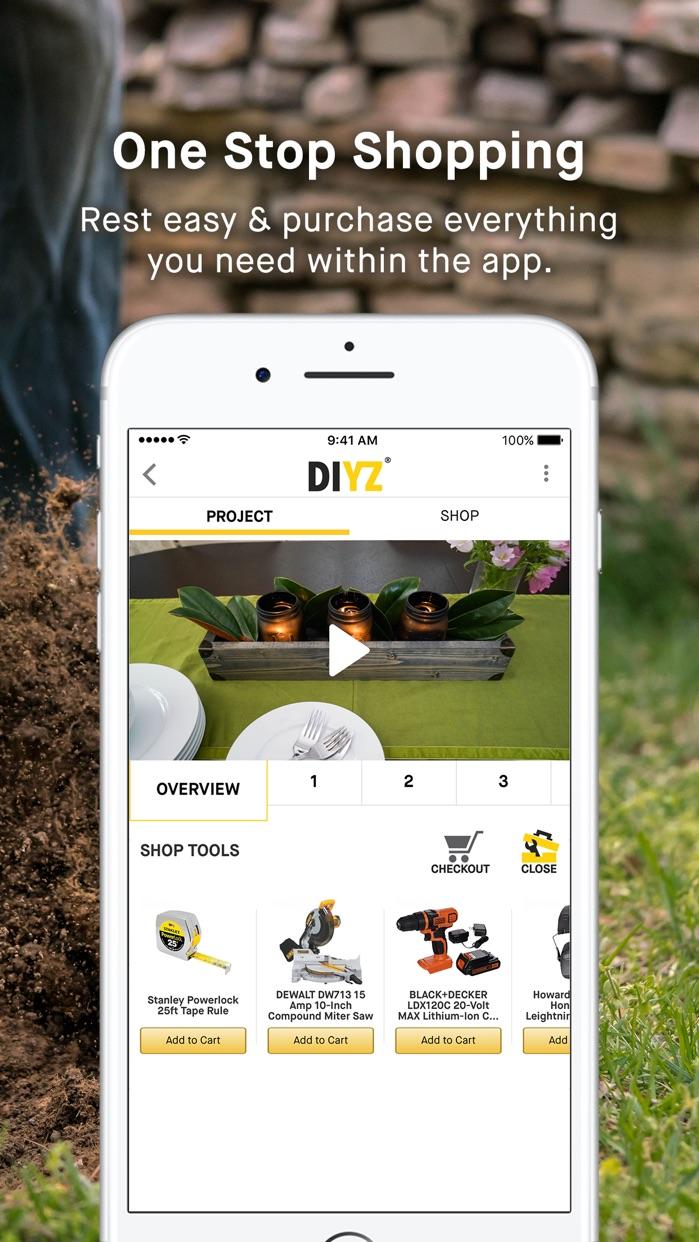 DIYZ Screenshot