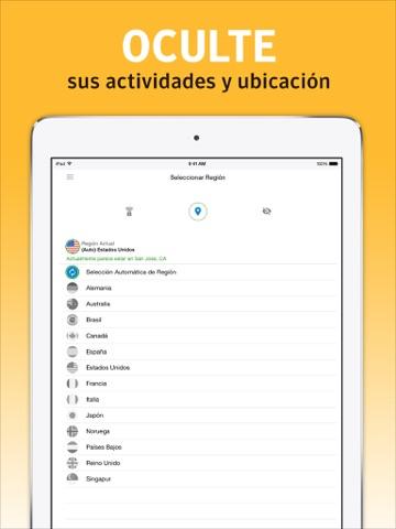 Norton WiFi Privacy VPN screenshot 3