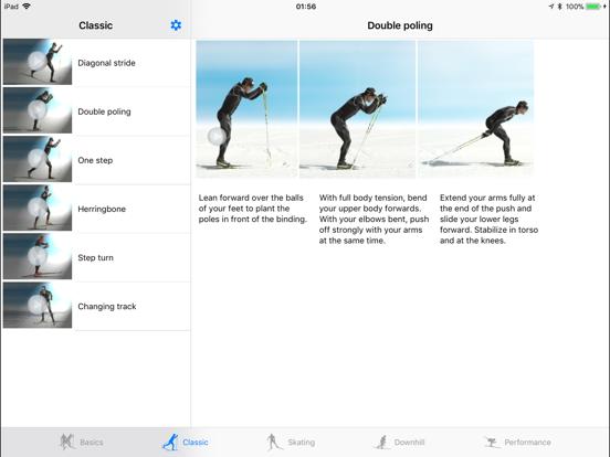 Cross-country skiing – Technique screenshot