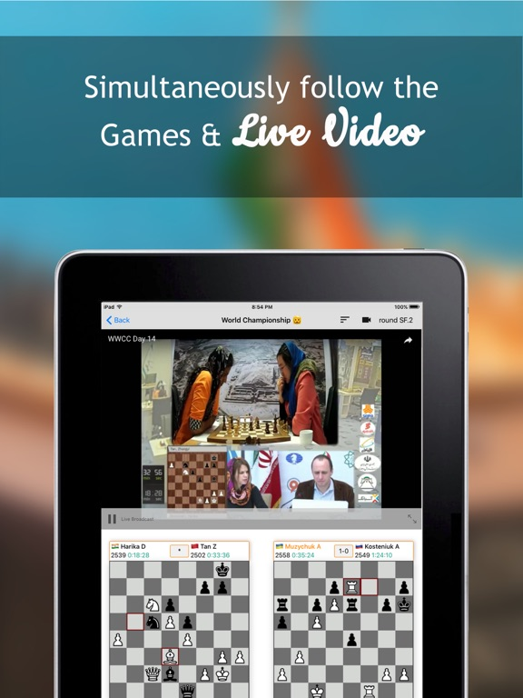 Follow Chess на iPad
