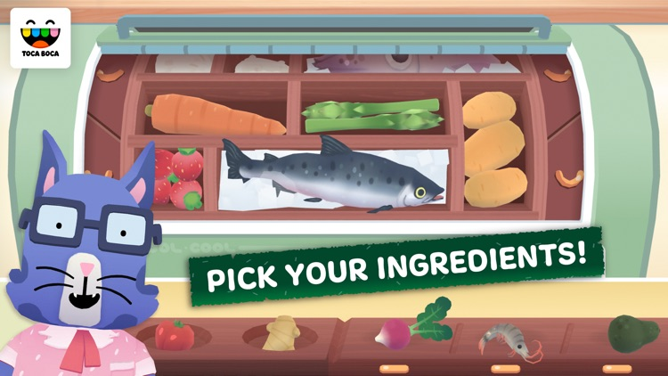 Toca Kitchen Sushi screenshot-0