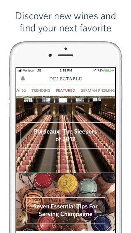Delectable - Scan & Rate Wine