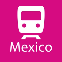 Mexico City Rail Map Lite
