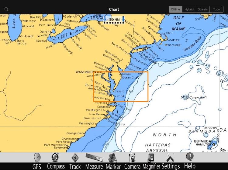 Virginia Nautical Charts Pro screenshot-4