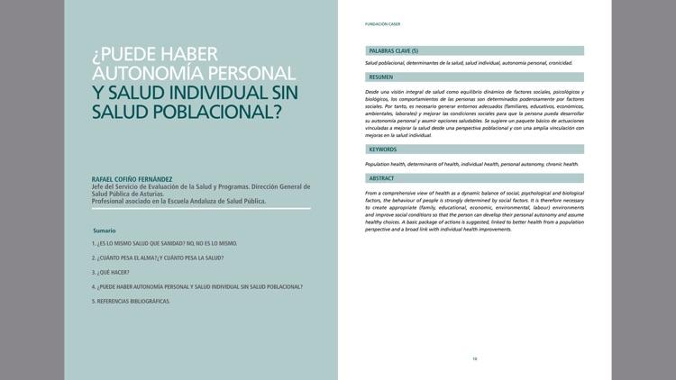 Revista Actas. Fundación Caser screenshot-4