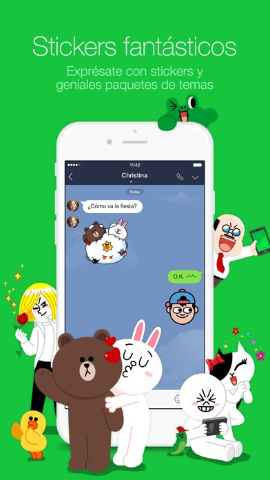 download LINE apps 1