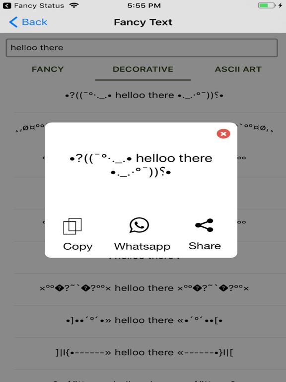 Fancy Status Generator | App Price Drops