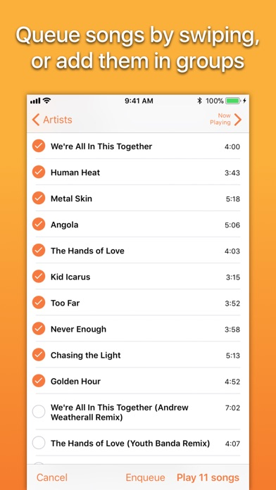 Screenshot #8 for Picky Music Player