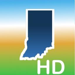 Aqua Map Indiana Lakes GPS HD