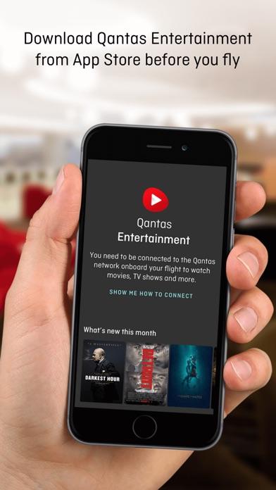 Qantas Entertainment screenshot two