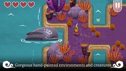 Screenshot from Legend of the Skyfish