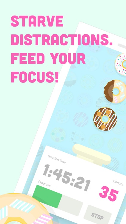 Donut Dog: Feed your focus! screenshot-0