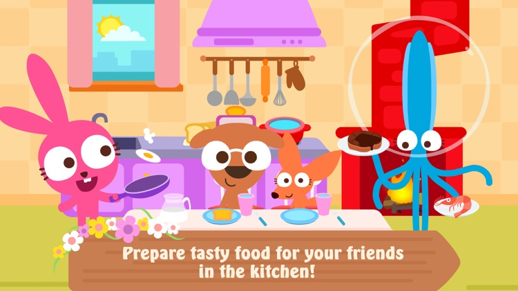 Papo Town: Sweet Home-For Kids screenshot-0