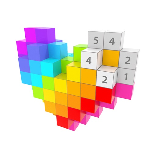 Voxel -3D Color by Number Game