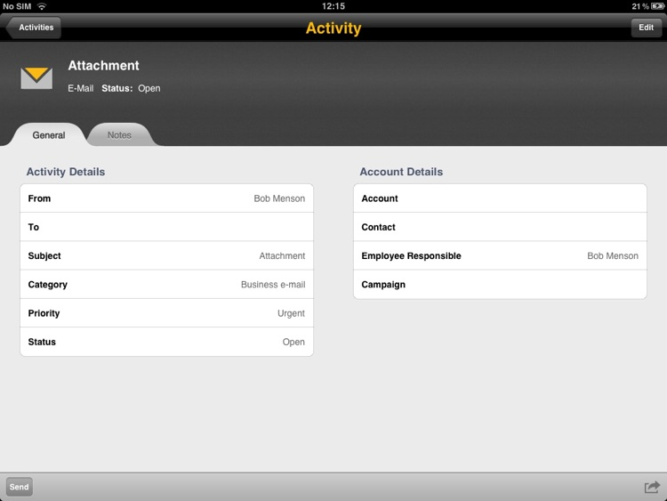 SAP Business ByDesign for iPad screenshot-4