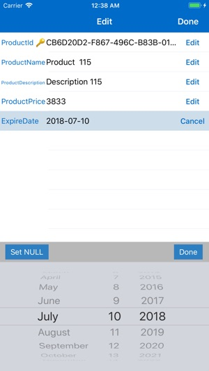 SQL Server Mobile Client on the App Store