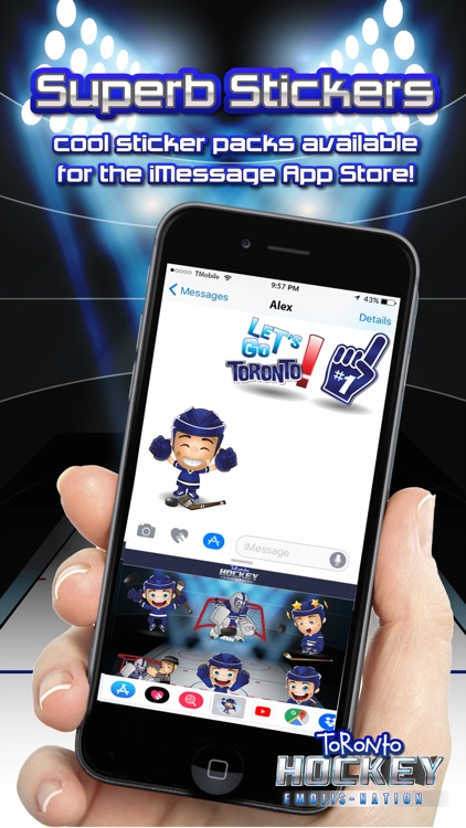 Toronto Hockey Emojis screenshot-3