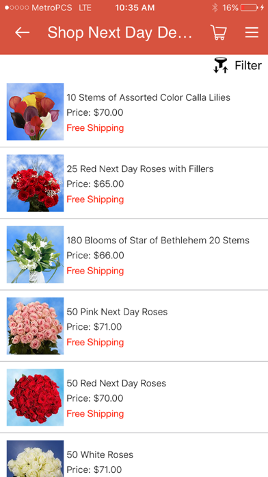 GlobalRose Flowers Delivery screenshot three
