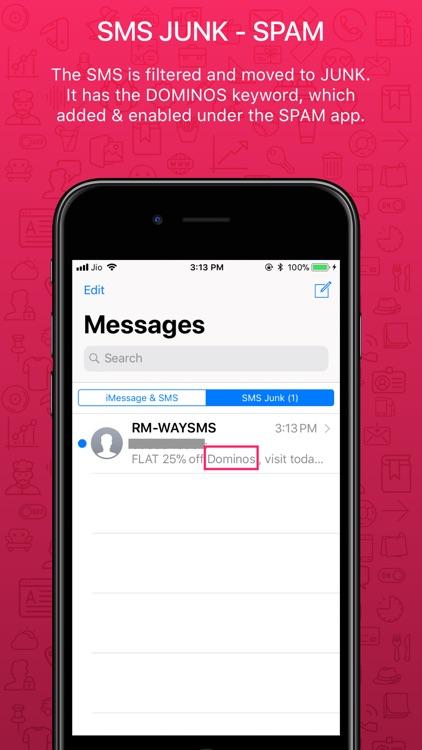 SpamSMS - Block Junk Messages screenshot-3