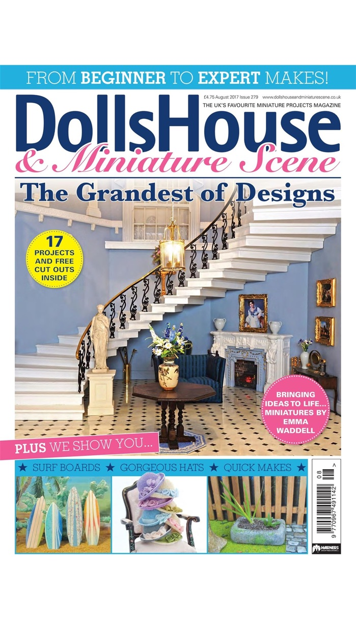 Dolls House and Miniature Scene - The UK's most popular magazine for dollhouses and miniatures Screenshot