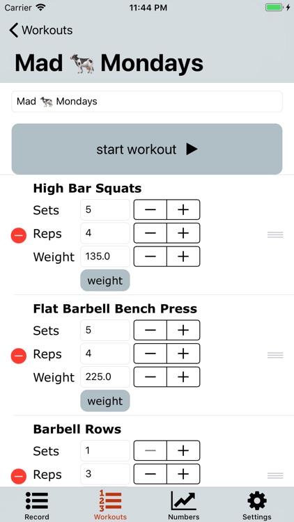 Workout Note screenshot-7