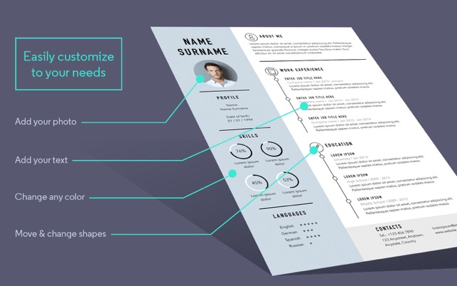Resume Cv Templates For Word