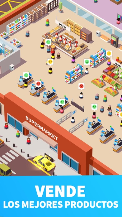 Screenshot for Idle Supermarket Tycoon - Shop in Spain App Store