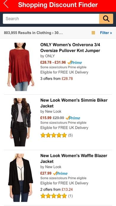Shopping Discount Finder screenshot three