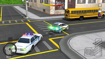 市パトカーの追跡3Dのおすすめ画像1