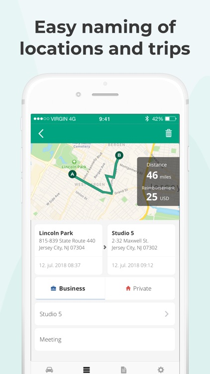 Mileage Tracker by Driversnote screenshot-8