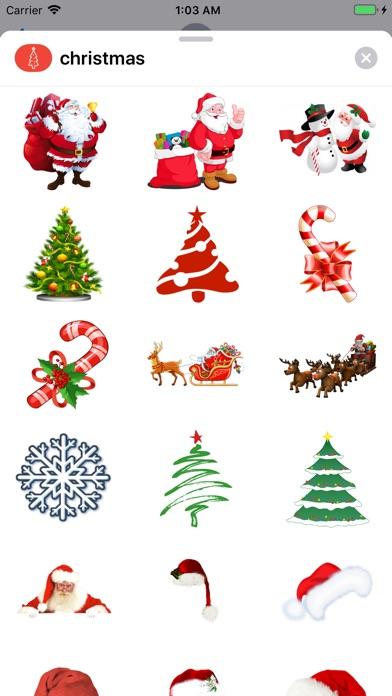 Best Christmas Stickers 2019 screenshot 2