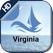 Marine Virginia Nautical chart