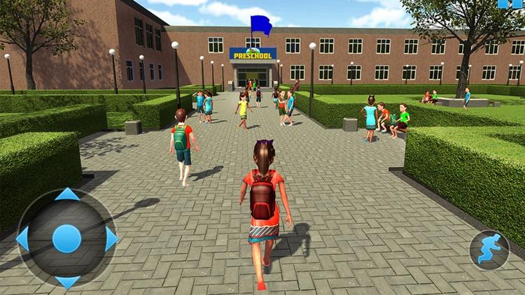 Virtual school life simulator by Salman Amjad