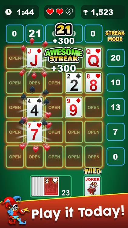 21 Frenzy - Card Games screenshot-4